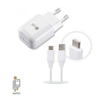قیمت و خرید شارژر اورجینال فست گوشی LG G6